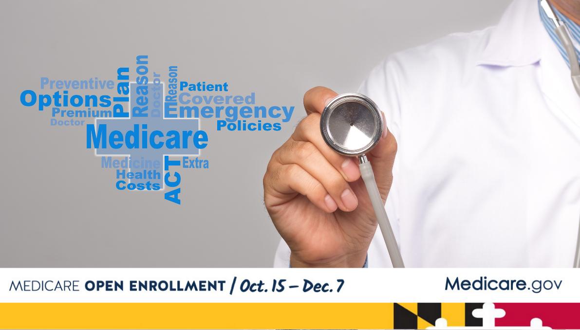 Medicare Open Enrollment is October 15 through December 7
