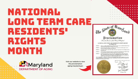 Proclamation for National Long Term Care Residents' Rights Month